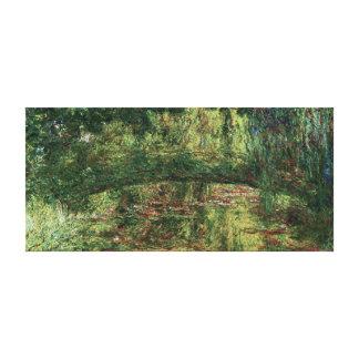 Monet - Pont Japonais Japanese Bridge Gallery Wrapped Canvas