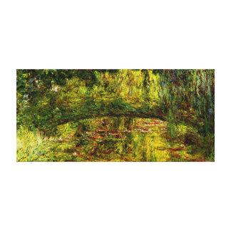Monet - Pont Japonais Japanese Bridge Canvas Prints