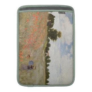 Monet  Poppy Field MacBook Sleeve