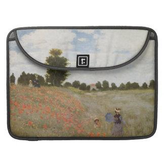Monet  Poppy Field Sleeve For MacBook Pro