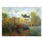 Monet Rose Garden Photographic Print
