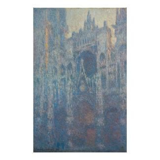 Monet, Rouen Cathedral, the Portal Poster