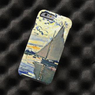 Monet - Sailboat at le Petit Gennevilliers Tough iPhone 6 Case