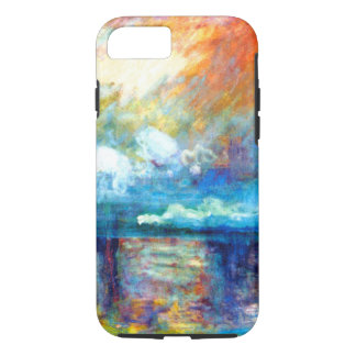 Monet Smoke in the Fog iPhone 8/7 Case