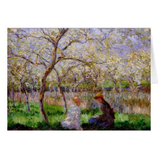 Monet - Springtime Card