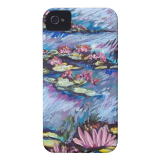 monet style lilies iPhone 4 cover