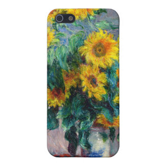 Monet - Sunflowers Cover For iPhone 5/5S