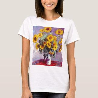 Monet Sunflowers T-Shirt