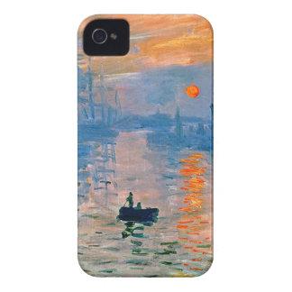 Monet Sunrise iPhone 4 Cases