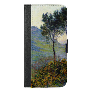 Monet - The Church at Varengeville Sunset iPhone 6/6s Plus Wallet Case