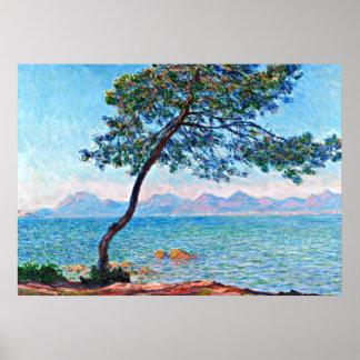 Monet - The Esterel Mountains Poster