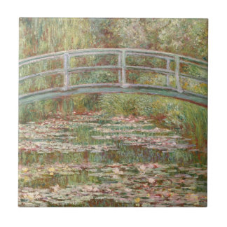 Monet: The Japanese Bridge Ceramic Tile