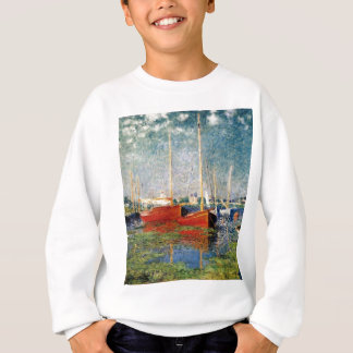 Monet - The Red Boats Argenteuil Sweatshirt