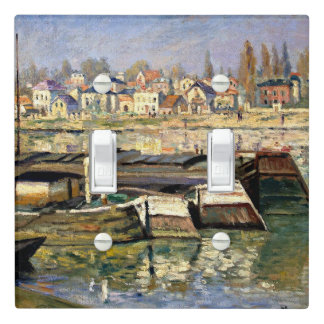 Monet - The Seine at Asnieres Light Switch Cover