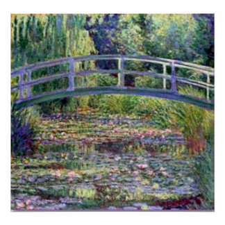 Monet-The Water Lily Pond Poster
