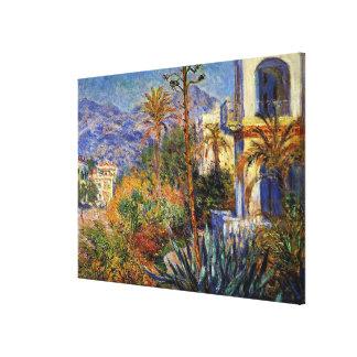 Monet - Villas at Bordighera Canvas Print