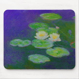 Monet Water Lilies 1897 Mouse Pad