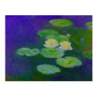 Monet Water Lilies 1897 Postcard