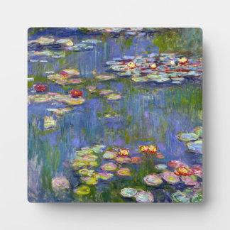 Monet Water Lilies 1916 Plaque