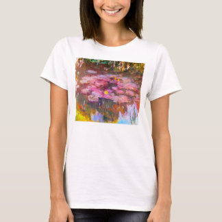 Monet Water Lilies 1917 T-shirt