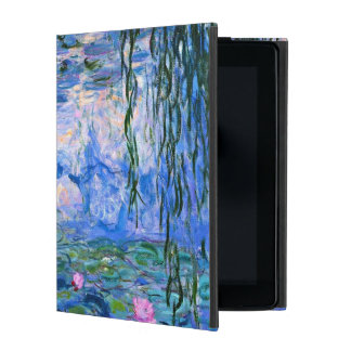 Monet - Water Lilies 1919 artwork iPad Folio Case