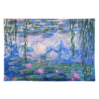 Monet - Water Lilies 1919 artwork Placemat