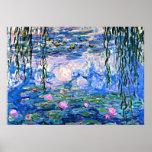 Monet: Water Lilies 1919 Poster