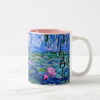 Monet: Water Lilies 1919 Two-Tone Coffee Mug