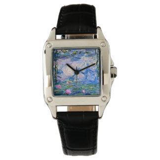 Monet - Water Lilies 1919 Wrist Watches