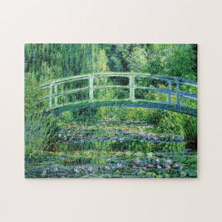 Monet Water Lilies and Japanese Bridge Fine Art Jigsaw Puzzle