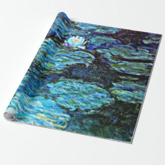 Monet - Water Lilies (blue)