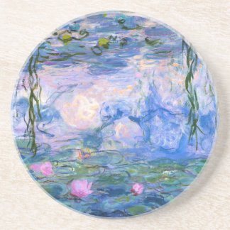 Monet Water Lilies Drink Coaster
