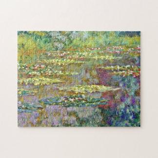 Monet Water Lilies Monet Fine Art Jigsaw Puzzle