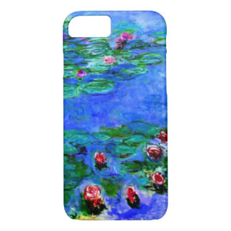 Monet - Water Lilies (red) Case-Mate iPhone Case