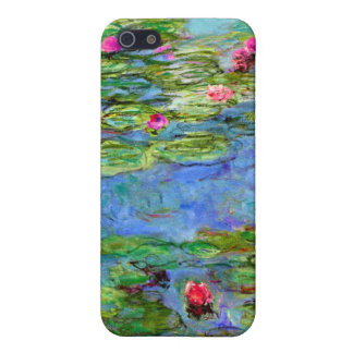 Monet Water Lilies Red iPhone 5/5S Case