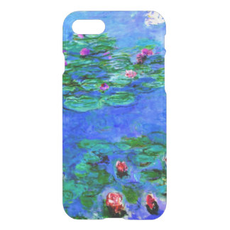 Monet - Water Lilies (red) iPhone 8/7 Case