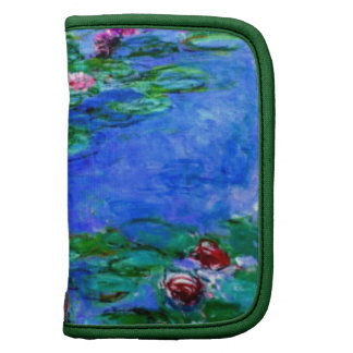 Monet - Water Lilies (red) Planner