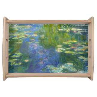 Monet Water Lilies Serving Tray