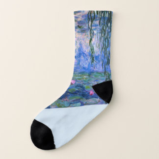 """Monet """"Water Lilies"""" Socks 1"""