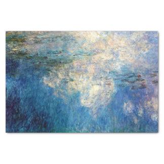 Monet Water Lilies The Clouds Fine Art Tissue Paper