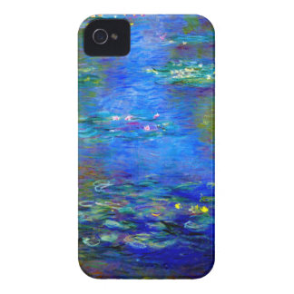 Monet Water Lilies v4 iPhone 4 Covers