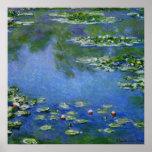Monet Water Lillies Print