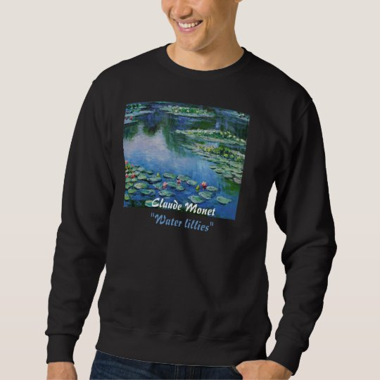 MONET WATER LILLIES SWEATSHIRT