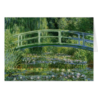 MONET Water Lily Pond 1897 Note Card