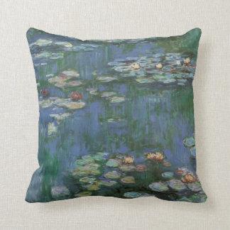 Monet-waterlilies Throw Pillow