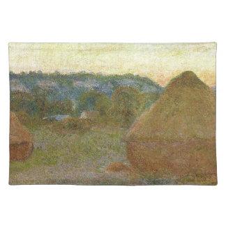 Monet - Wheatstacks Classic Painting Placemat
