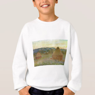Monet - Wheatstacks Classic Painting Sweatshirt