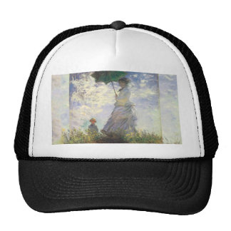 Monet - Woman With a Parasol Trucker Hat