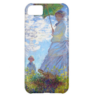 Monet: Woman with Parasol iPhone 5C Cover