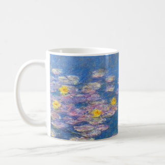 Monet Yellow Water Lilies Mug